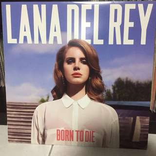 Lana Del Rey 'Born to Die' Vinyl Record