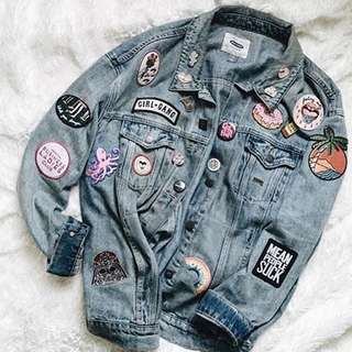 Denim jacket Levi's orginal usa custome emblem
