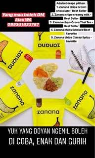 Zanana chips (kripik pisang kekinian)