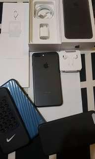 Iphone 7plus 256 black matte