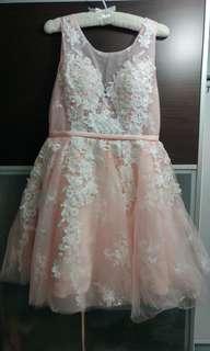 晚裝裙 Lace midi dress