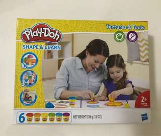 Playdoh shape & learn (BRAND NEW)