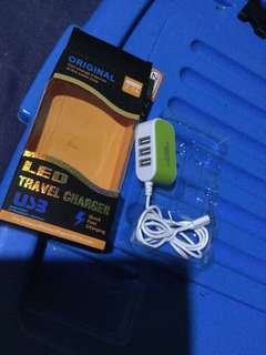 4in1 led cellphone charger