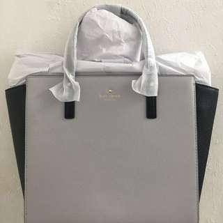 Brand New Kate Spade Grand Street Colorblock Hayden Handbag/Slingbag