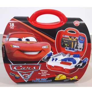 CARS 3 Suitcase - Repairman game set
