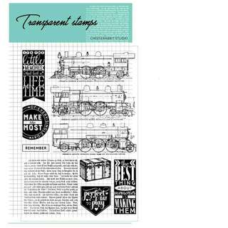 Train clear stamp