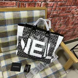 Chanel shopping hand bag