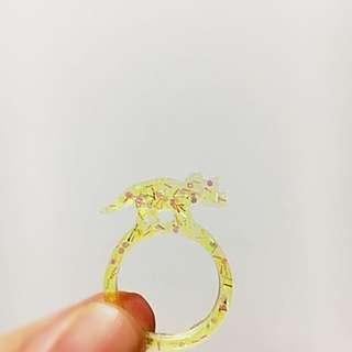 Resin Dino Ring