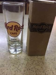 Hard Rock Cafe Shot Glass - Kota Kinabalu
