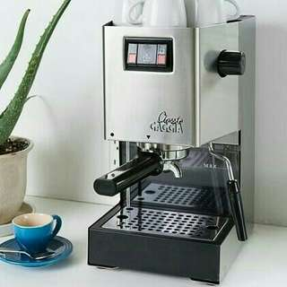 Mesin Kopi Espresso Gaggia Classic New dan Garansi