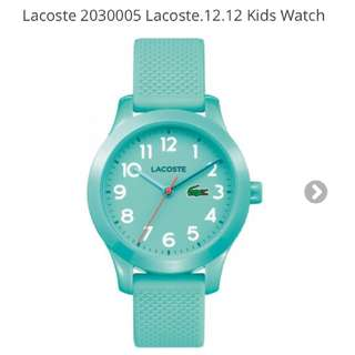 RUSH SALE: AUTHENTIC LACOSTE WATCH