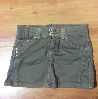 Gray ZARA skirt