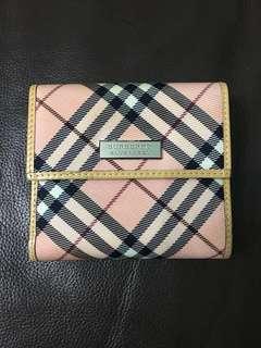 日本直送 經典japan blue label Burberry Wallet 銀包