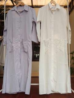 Dress kantong mutiara