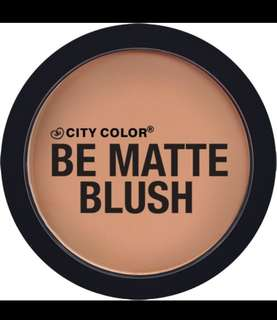 CITY COLOR BE MATTE BLUSH (Toasted Coconut)