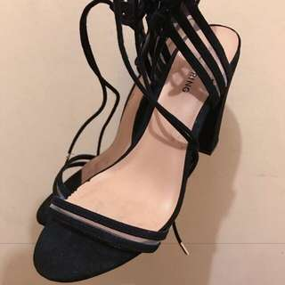 Call it Spring Strappy heels Size 8.5