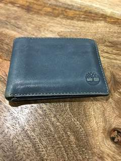 Blue Leather Timberland Wallet