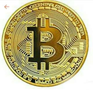 Bitcoin BTC Physical Coin Collection Gift