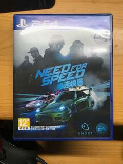 PS4 Need For Speed 中文