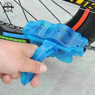 Bicycle Bike Chain Freewheel Cleaner Mountain Bike Brush Handle Wash Tool