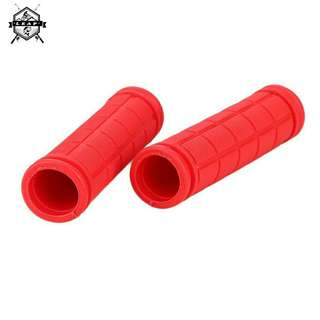 Bike Mountain Bicycle Scooter Handlebar Grips Rubber Cover Gloves Colorful