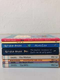 Assorted Roald Dahl Books