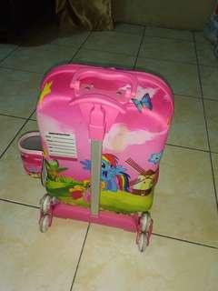 Tas koper anak 3D bisa bunyi😊