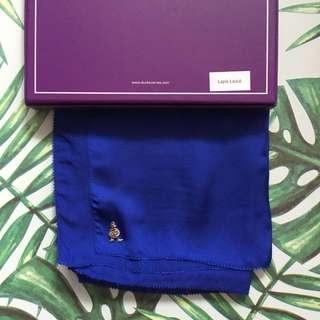 Duck Lapis Lazuli Satin Silk