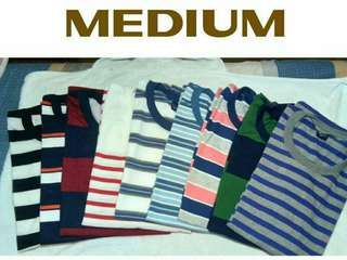 Brand new Classic Stripes Tees