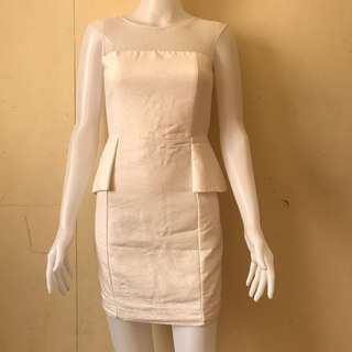 White dress, office dress, party dress