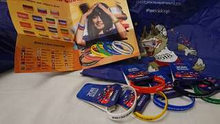 2018 FIFA World Cup Bracelets