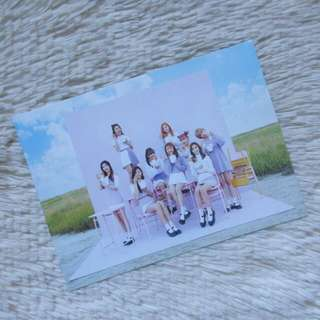 Official TWICE Group Photocard from Twicecoaster