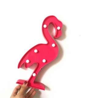 Lampu Dekorasi Marquee Light LED -   Flamingo