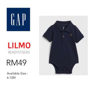 Collar Polo Rompers