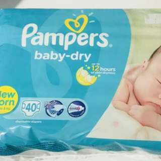 🚉Brand New Pampers New Born Diapers