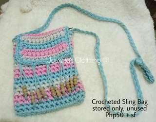 Crocheted Sling Bag