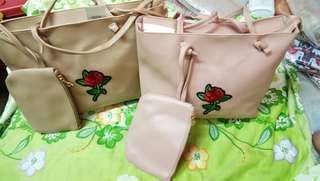Korean Bag with Pouch