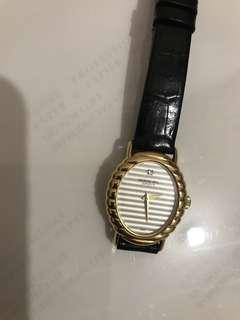 雷蒙威機械上鏈錶.18KGOLD.女裝