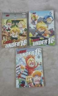 Koleksi komik lawak under 18 by Zint