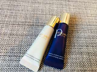 Brand new cle de peau day and night emulsion 12ml x 2