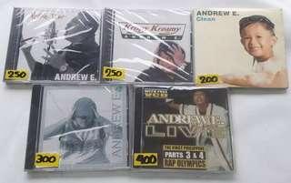 Andrew E Darren Espanto Daniel Padilla OPM CD Album