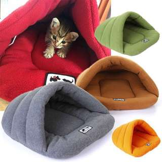 Pet bed cat house dog bed