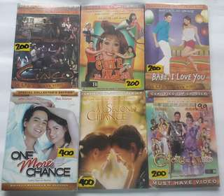 Original Tagalog Filipino Pinoy DVD Movies Batch 2