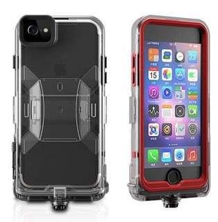全新 100% new 蘋果apple Iphone ip6/7 case 防水殼 防撞 送7s 玻璃貼 叉電線