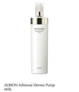 BN- ALBION - Infinesse Derma Pump Milk