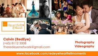 Photo and video services for weddings, pets , graduation and others