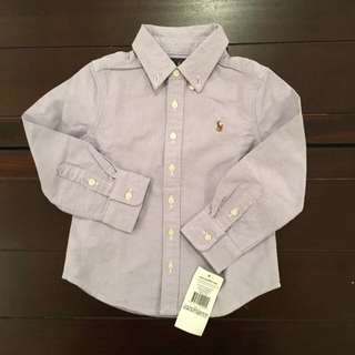 ORIGINAL Ralph Lauren Kids Purple Shirt