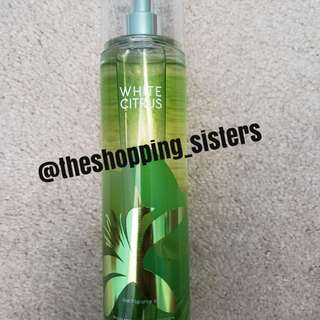 Bath&Body Works White Citrus Fragrance Mist