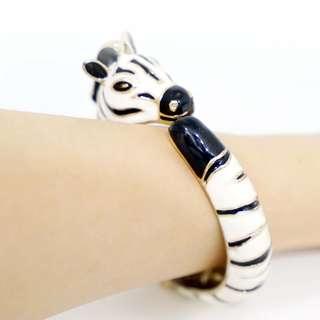 立體斑馬手環 斑馬形狀 立體手鍊 手環 首飾