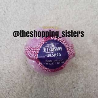 Bath&Body Works bath bomb